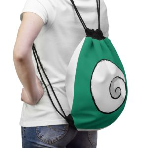 Little Spiral Drawstring Bag